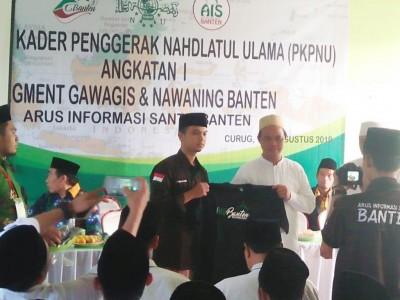 Perkuat Aswaja, AIS Banten Gelar PKPNU untuk Gawagis dan Nawaning
