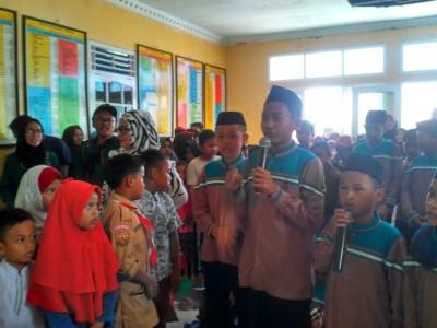 Haru dan Meriah, Warnai Penutupan KKN Mahasiswa Unusia di Ligarmukti, Klapanunggal Bogor