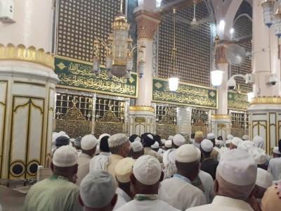 Dua Magnet di Masjid Nabawi yang Sedot Jamaah