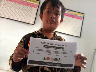 Ratusan Warga OKI Terima Kartu Sehat yang Diluncurkan Ansor