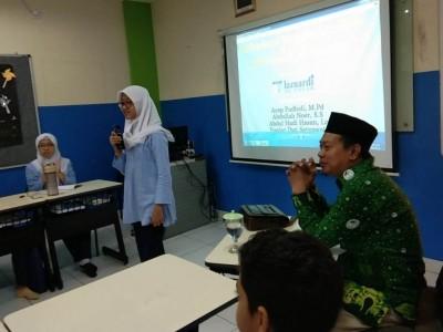 SMP Lazuardi Al Falah Depok Hadirkan Pergunu dan IPNU dalam Latihan Dasar Kepemimpinan OSIS