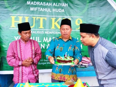 Yaumul Marhamah Meriahkan Hari Lahir Madrasah di Kalbar