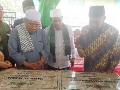 Ketua NU Jatim Resmikan Masjid Bantuan NU Peduli di Lombok Utara