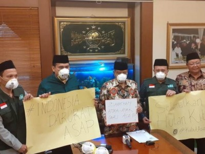 Sikap PBNU terkait Karhutla: Selamatkan Indonesia dari Asap