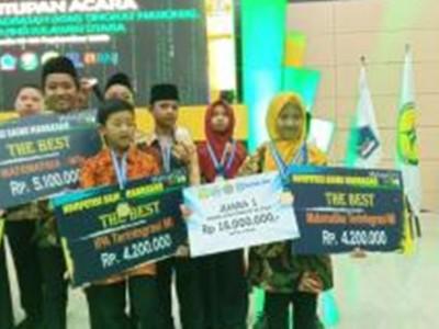 Siswi MI Hasyim Asy'ari Jepara Juara Pertama KSM Nasional 2019