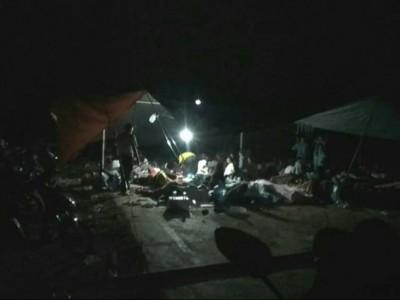 Warga Ambon Masih Mengungsi Setelah Gempa Kamis