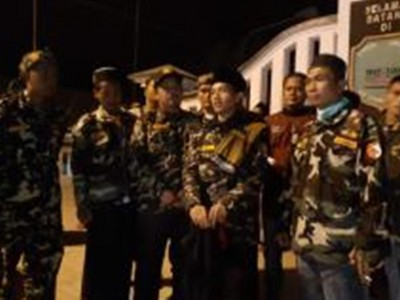 Jalan Kaki Temui Habib Luthfi, Nazar Anggota Banser Banten