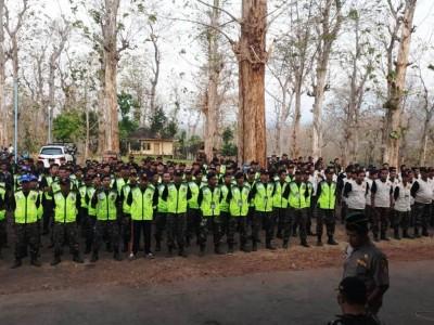 Banser Jatim Tingkatkan Keterampilan dengan Latihan Gabungan