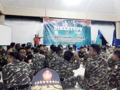 Diklatsus Banser untuk Didik Kader Aktif Bermasyarakat