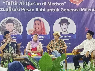 Gus Nadir Luncurkan 'Tafsir Al-Quran untuk Kalangan Milenial'