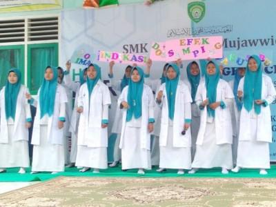 Peringati Farmasist Day, SMK Raudhatul Mujawwidin Tebo, Jambi Gelar Pengobatan Gratis