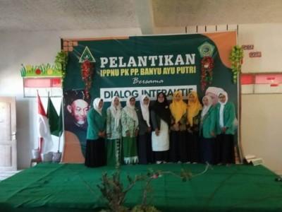 Fatayat NU Pamekasan Dorong IPPNU Kembangkan Organisasi