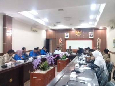Redam Sengketa Tanah, PMII Jember Audiensi dengan DPRD