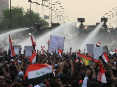 Demo Antipemerintah di Irak, 65 Meninggal dan Ribuan Terluka