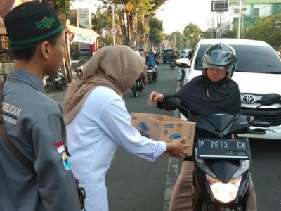 Peduli Pengungsi, PMII Universitas Muhammadiyah Jember Galang Dana