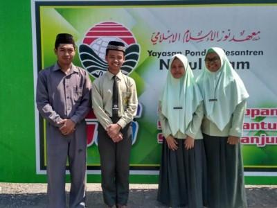 Terinspirasi Limbah Daun Waru dan Nanas, Tim SMA Nuris Juara LKTI Nasional