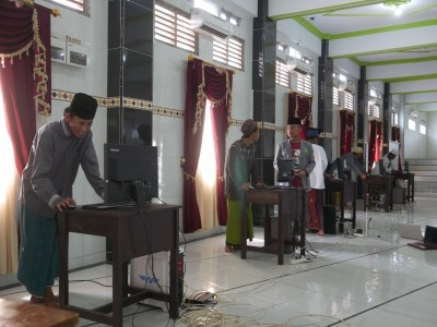 Tentukan Pengurus Baru, Pesantren Darul Falah Amtsilati Jepara Gelar Pemilu