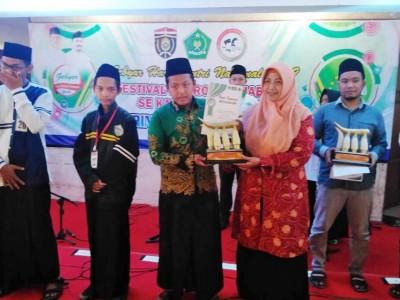 Bertema Religi, PCNU dan Pemkab Ngawi Rayakan Hari Santri 2019