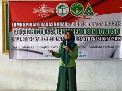 Hari Santri, Pergunu Bondowoso Gelar Pelatihan Hingga Lomba Pidato