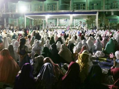Hari Santri, Ribuan Nahdliyin Lombok Ikuti Ijazah Wirid Siwak
