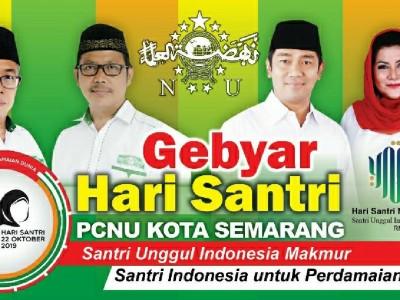 Surat Santri untuk Wali Kota Semarang Meriahkan Hari Santri