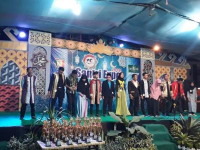 Panggung dan Bazar Santri Expo Pringsewu 2019 Diserbu Pengunjung