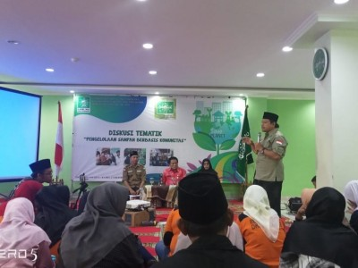 Kelola Sampah Ibu Kota, Dinas Lingkungan Hidup Pemrov DKI Gandeng LPBINU Jakarta
