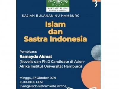 Kajian Bulanan PCINU Jerman Angkat Tema 'Islam dan Sastra Indonesia'
