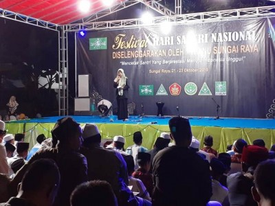Di Kawasan Kubu Raya Kalbar Digelar Festival Hari Santri