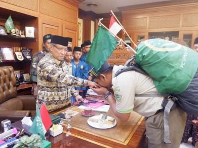 Kader CBP Surabaya Tiba di PBNU, Kiai Said: Para Wali Biasa Berkelana