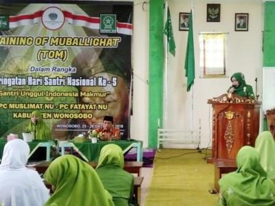 Tingkatkan Kapasitas, Fatayat dan Muslimat Wonosobo Gelar Training of Mubalighat