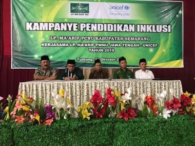 LP Ma`arif NU Kabupaten Semarang Kampanye dan Deklarasi Pendidikan Inklusif