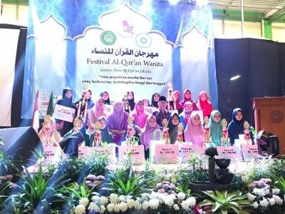 Peringati Harlah, IIQ Jakarta Gelar Festival Al-Qur'an Wanita