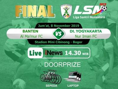 Lima Fakta Finalis Liga Santri 2019, Nur Iman FC dan Al-Ma'mur Tangerang