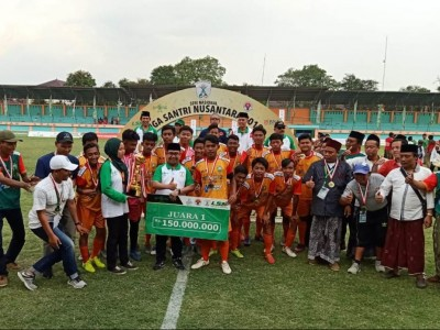 Pesantren Nur Iman Juara Liga Santri Nusantara 2019