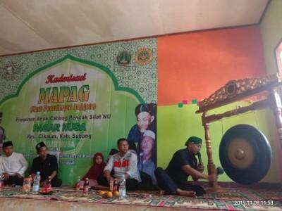 PSNU Pagar Nusa Subang Rekrut Puluhan Anggota Baru