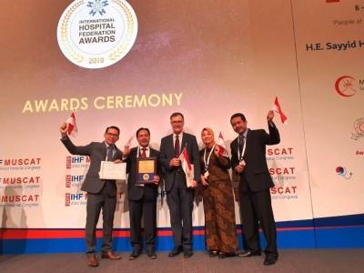 Sentuhan Kader ISNU Antar Rumah Sakit Ini Raih Penghargaan Internasional