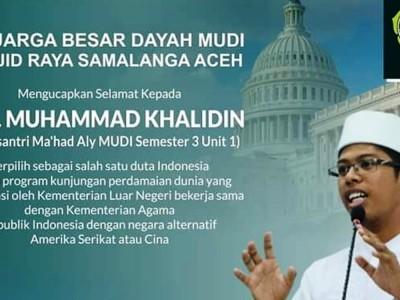 Mahasantri di Aceh Lulus Program Perdamaian ke Amerika dan China