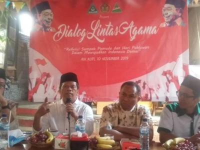 GP Ansor Kembangan Adakan Dialog Lintas Agama