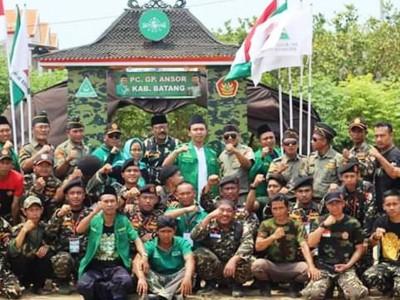 Ansor Batang Juara Umum Kemah Bakti III Ansor Jawa Tengah