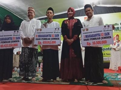 Pemkab Kucurkan Beasiswa Puluhan Miliar untuk IAIN Jember
