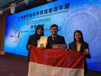 Kader PMII Raih Emas di Ajang Penemuan dan Inovasi Masyarakat China di Taiwan