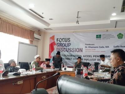Lakpesdam NU Banten Dorong Pemahaman Islam Inklusif melalui Masjid