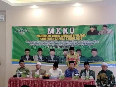 Gelar Madrasah Kader, NU Kapuas Fokus Percepatan Tiga BIdang