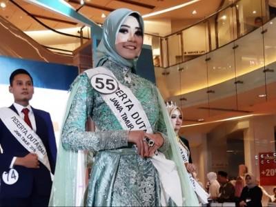 Wakil Sidoarjo Juara Putri Duta ISNU Jatim 2019