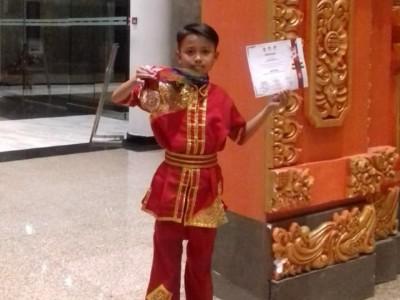 Siswa MI di Jombang Sabet Juara Kungfu tingkat Nasional
