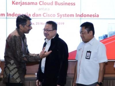Siap Kembangkan National Digital Platform, Telkom Jajaki Kerja Sama Strategis dengan Cisco
