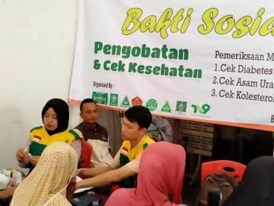 LAZISNU Kota Surabaya Baksos Cek Pengobatan Gratis