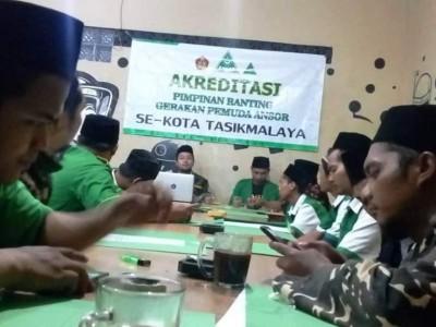 Tingkatkan Mutu Kepengurusan, GP Ansor Kota Tasikmalaya Lakukan Akreditasi