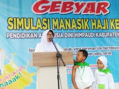 Bupati Tegal: Manasik Haji Kecil Tanamkan Nilai dan Ajaran Islam Sejak Dini